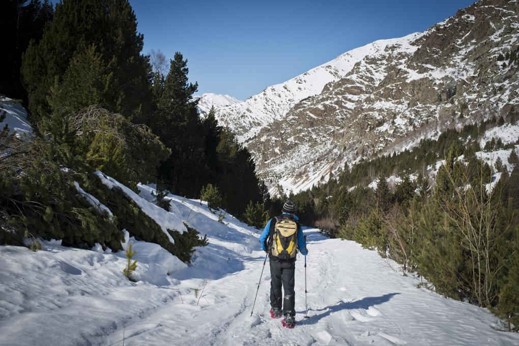 La rivera del río Sant Martí en la Vall de Boí, un inicio perfecto para principiantes.