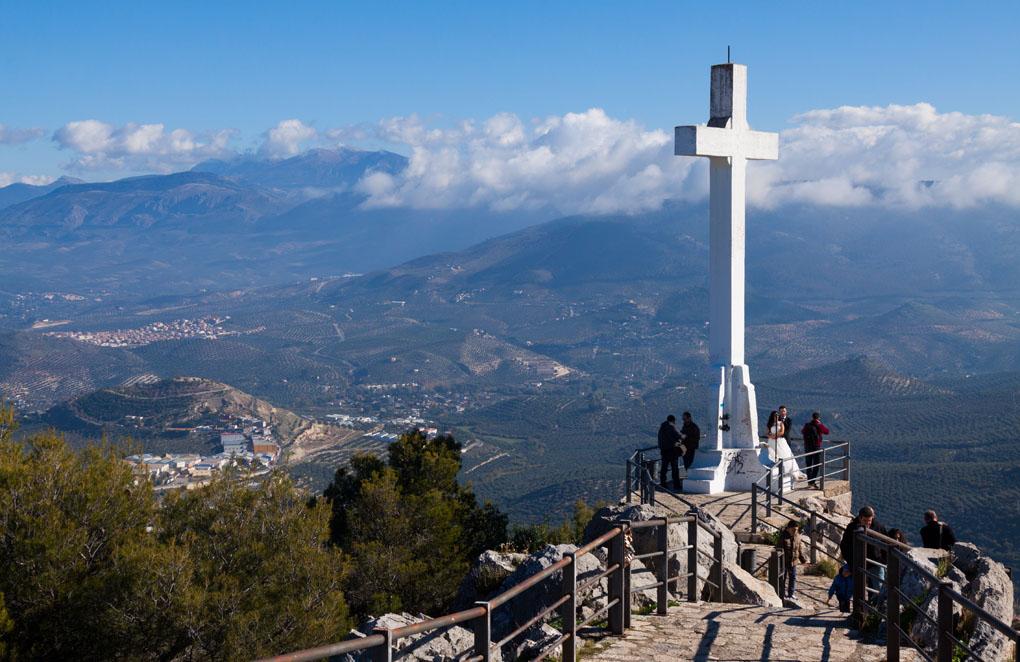 Dice la leyenda que el origen de la cruz se debe a Fernando el Santo. Foto: Iakov Filimonov. Shutterstock.com