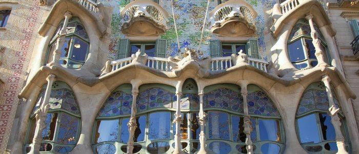 Casa Batlló en Barcelona.