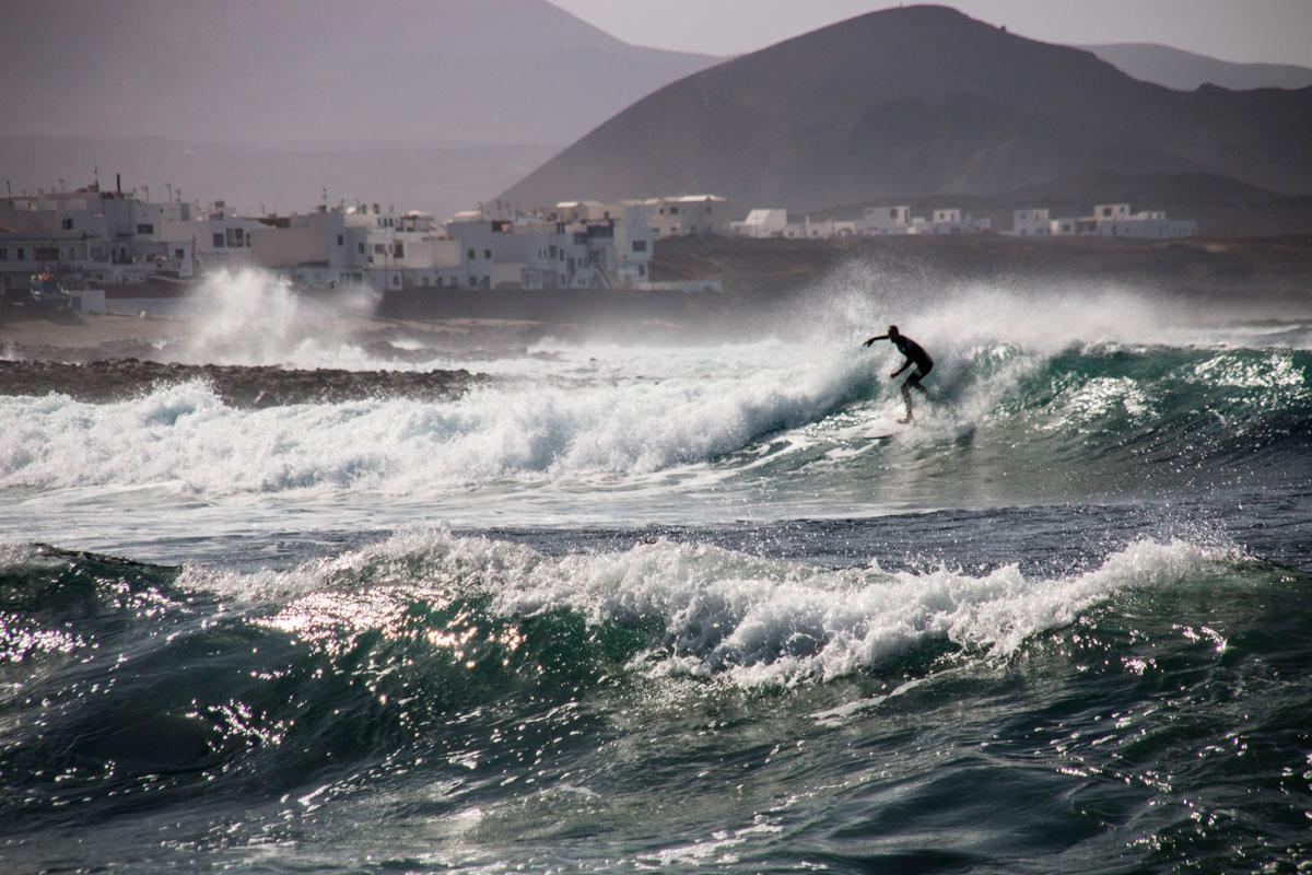 ¡Ojo! Las olas de La Santa ya no son para principiantes.