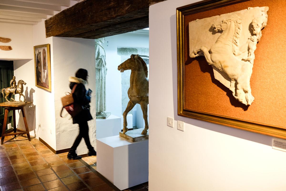 Una de las salas del Museo Pérez Comendador-Leroux.