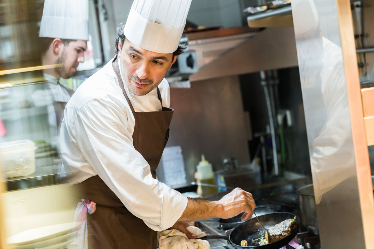 El deporte de élite le regaló algo fundamental para la cocina: la disciplina.