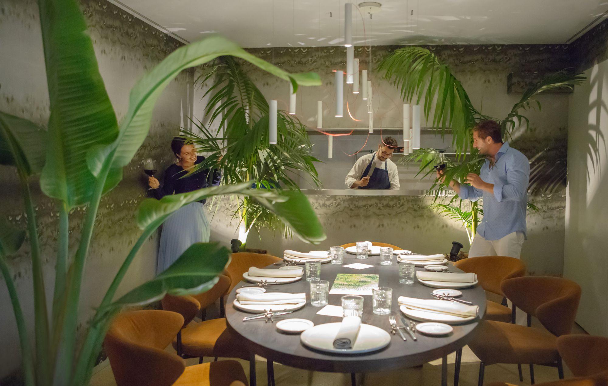 Un jardín selvático y musical (soul, jazz, funkie y latino) es la nueva propuesta mallorquina. Foto: Fabiola Gastronomic Garden.