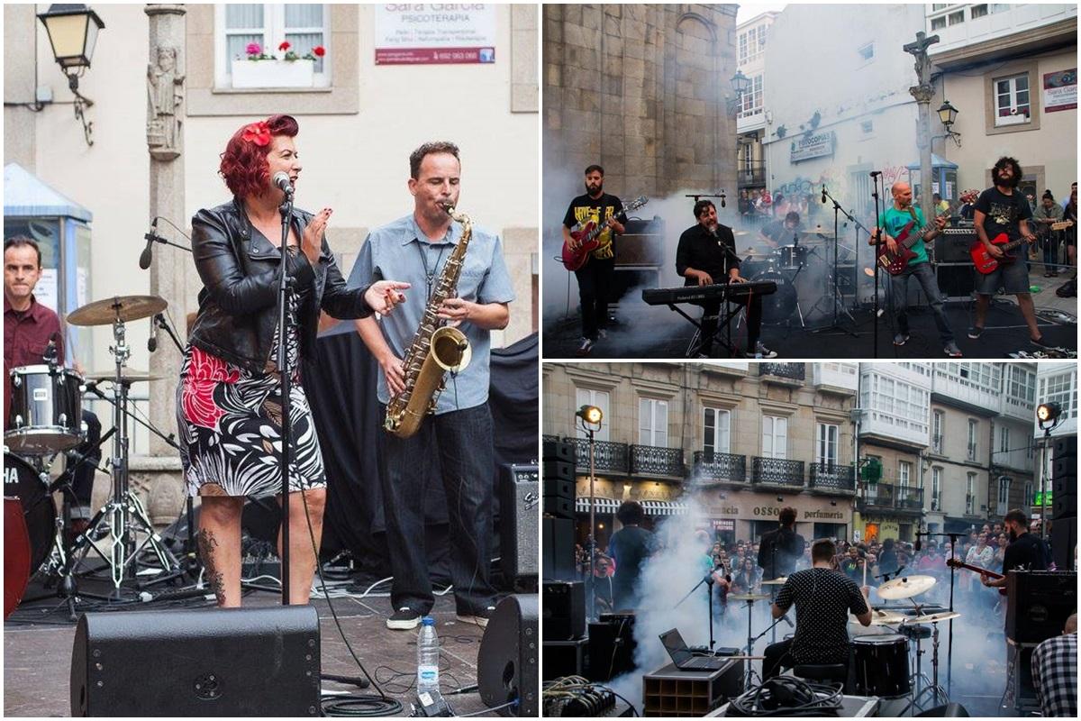 Los conciertos ubicados en la Plaza de San Nicolás son especialmente recomendables. Foto: Facebook Festival Noroeste.