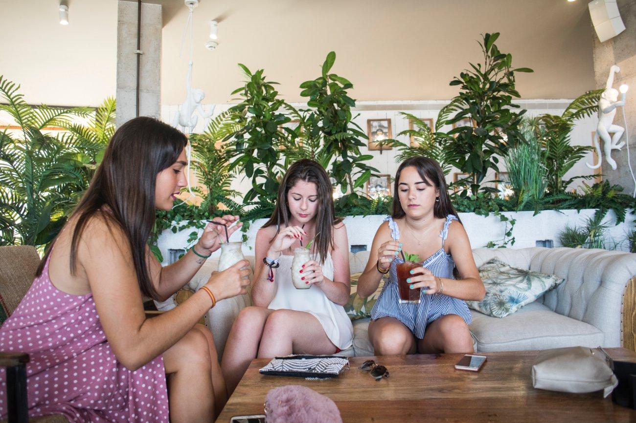 Benicàssim: Restaurante 'Playachica' (clientas)