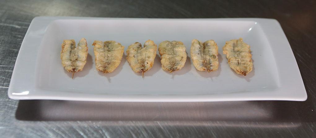 Los boquerones fritos de Alhucemas. Foto: Alhucemas.