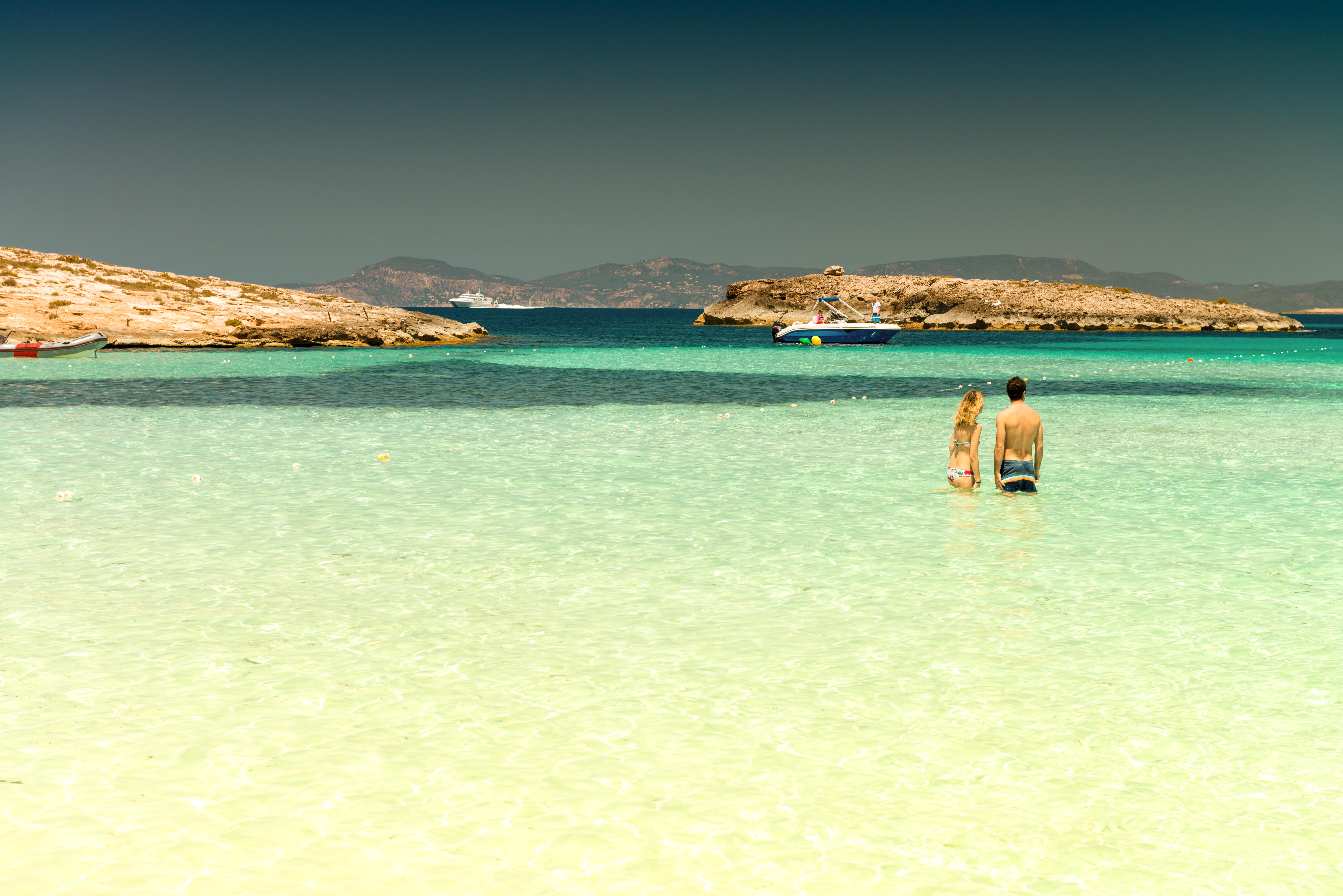 Ses Illetes es una de las playas más bellas del mundo. Foto: Shutterstock.