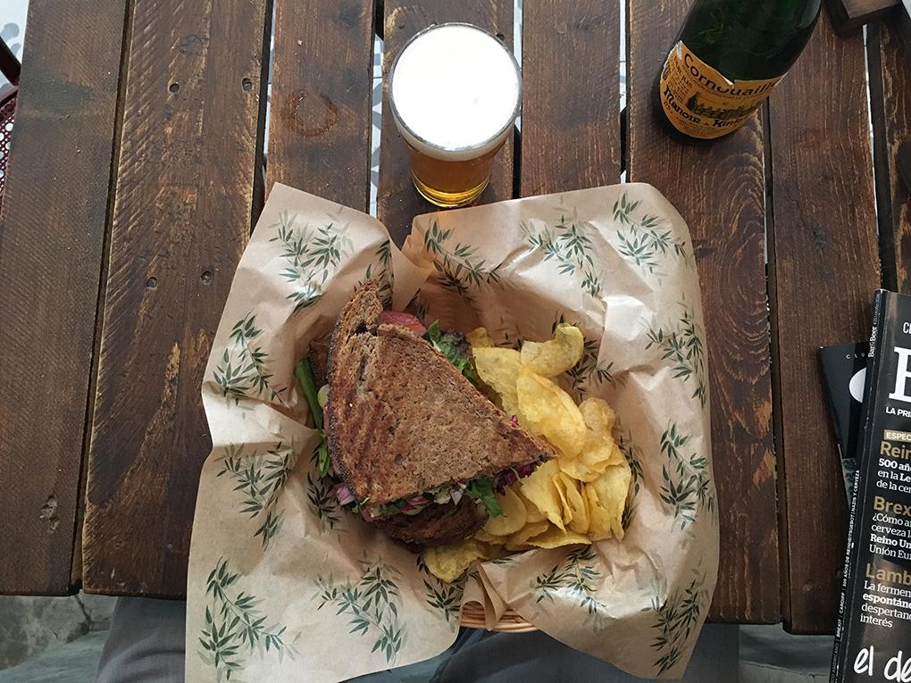 Todo tiene un toque americano en los platos de 'The Toast Tavern'. Foto: Luis Blasco.