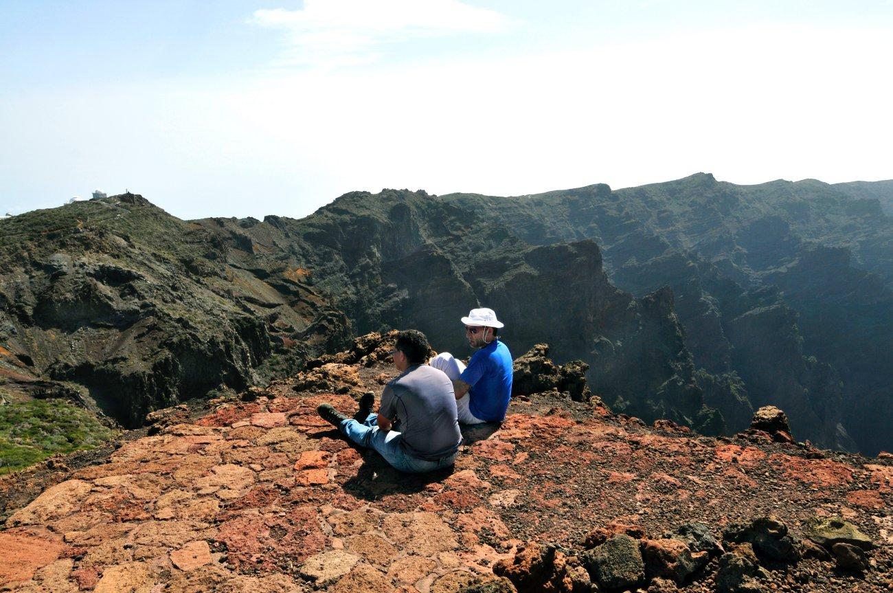 Parque Nacional Caldera Taburiente: Observatorio Astronómico del Roque de los Muchachos