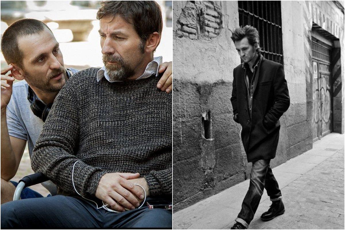 Raúl, en su papel de director en 'Tarde para la Ira'. Foto: Twitter