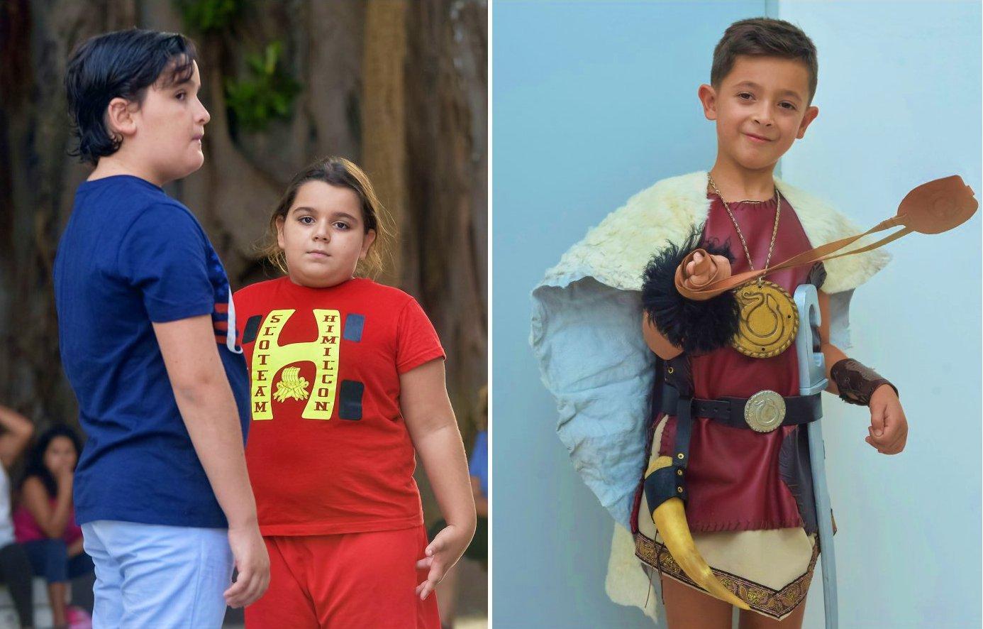 Carthagineses y romanos: niños