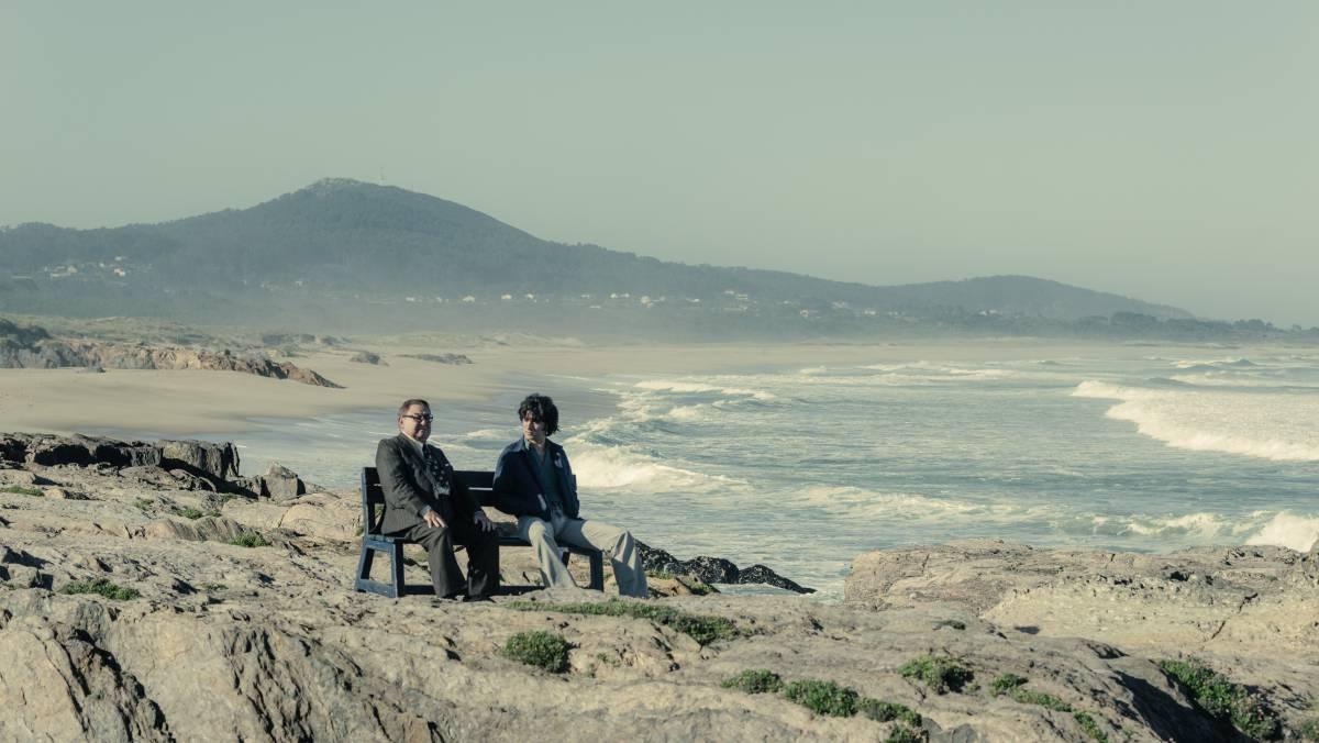 En As Furnas tienen lugar las conversaciones entre Terito y Sito Miñanco. Foto: Atresmedia,
