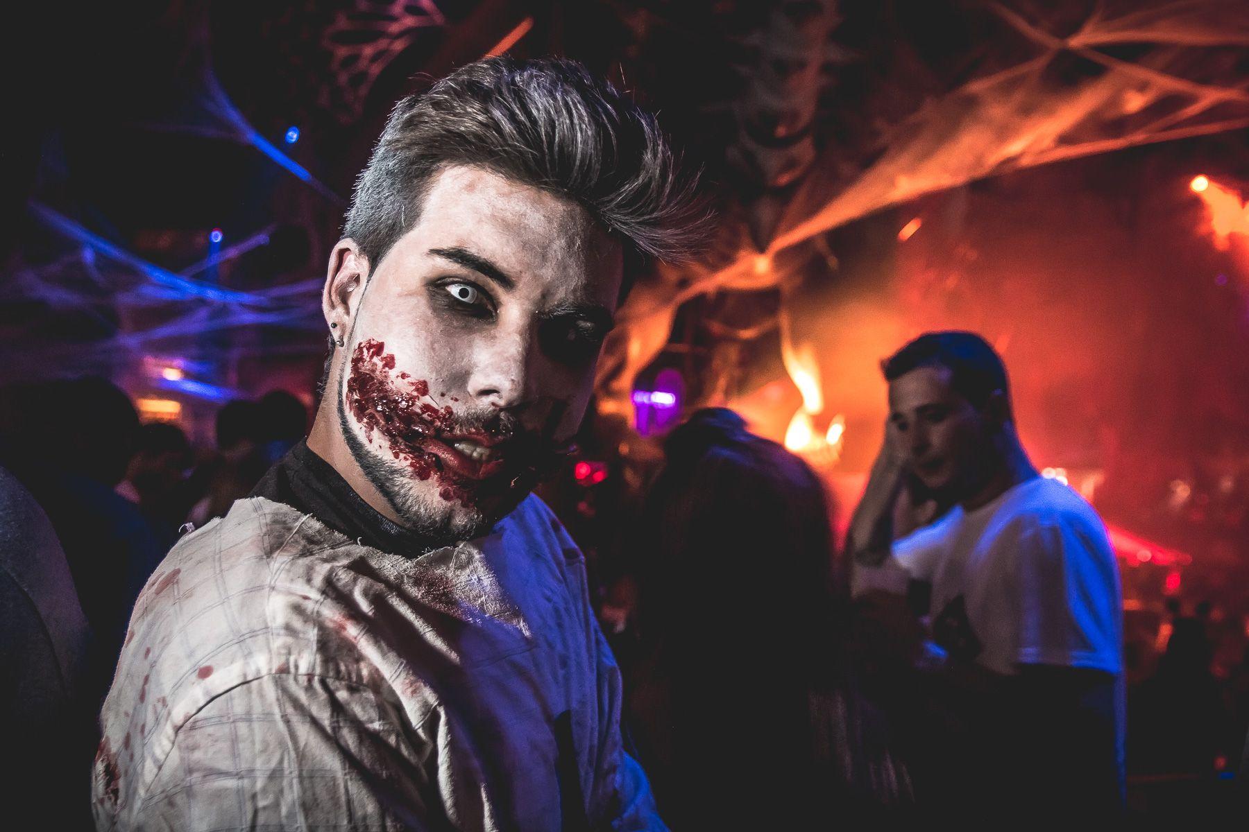 'Fabrik' es una de las discotecas madrileñas que más en serio se toma la celebración de Halloween. Foto: 'Fabrik'