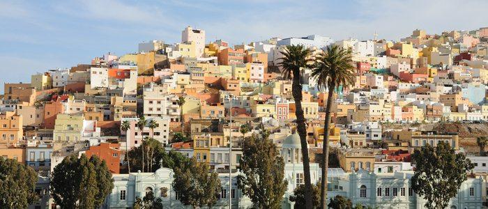 Vista del Barrio de Vegueta. Foto: Flickr.