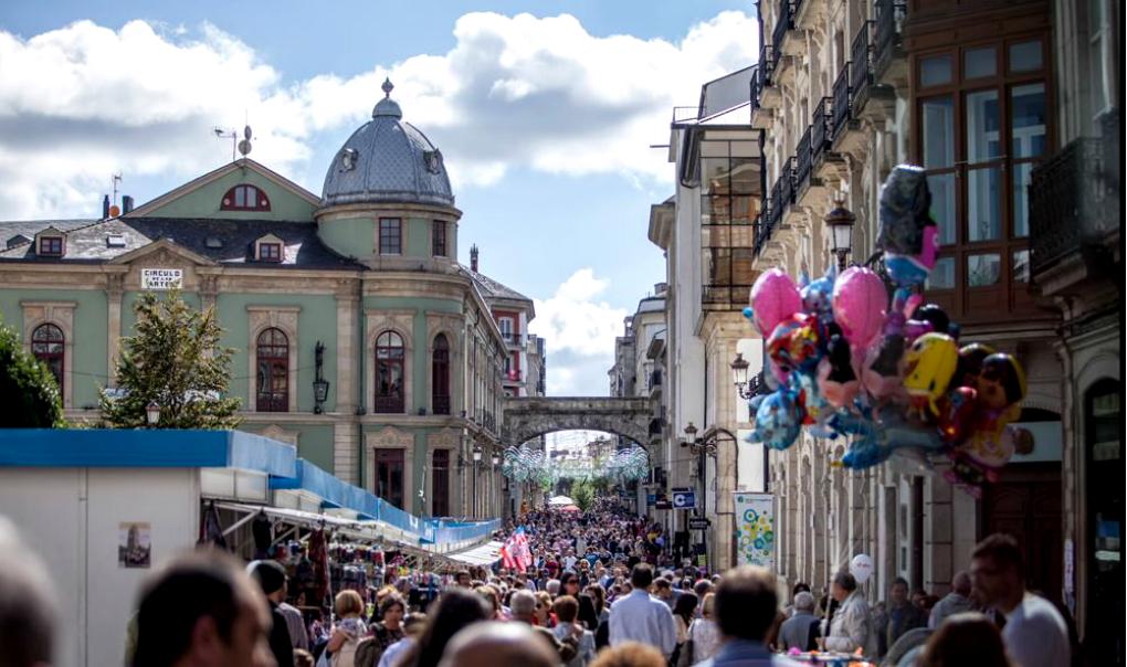 Todo el mundo a la calle con San Froilán. Foto: San Froilán.