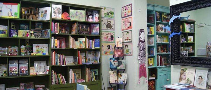 Librería Tusitala, Badajoz.