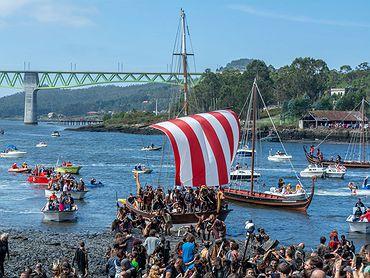 Romería Vikinga de Catoira - origen de la fiesta vikinga
