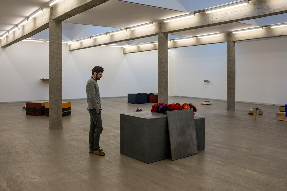 Exposición de Ángel Bados en Galería Carreras Múgica.