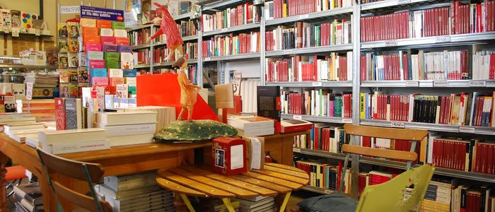 Librería La Fugitiva, Madrid.
