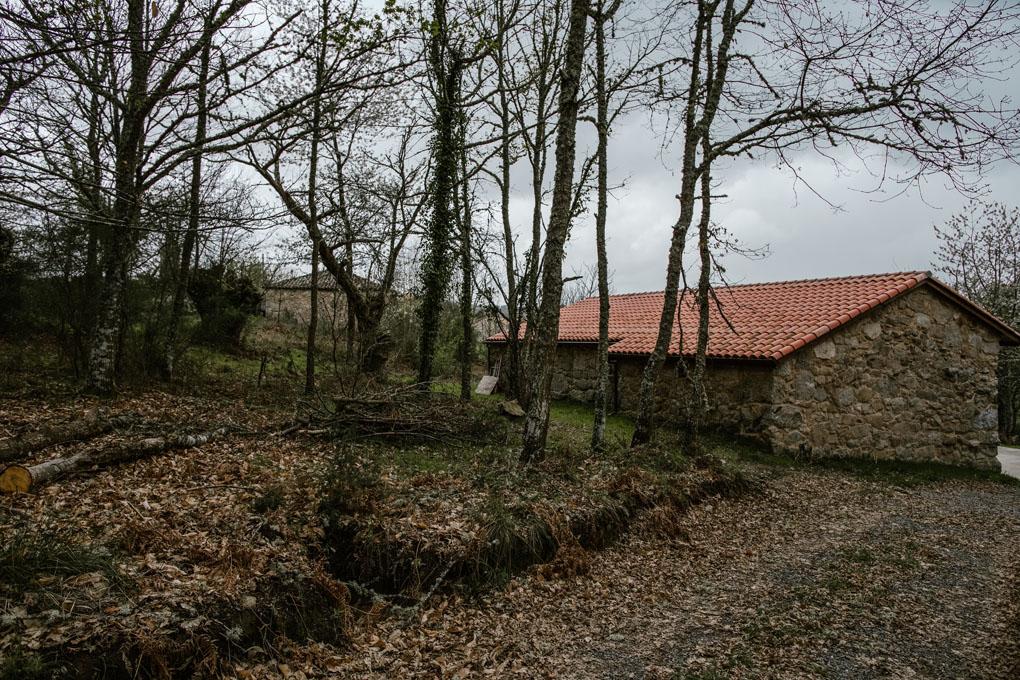 La bodega está situada en una finca de la familia y ha sido restaurada siguiendo la tradición.