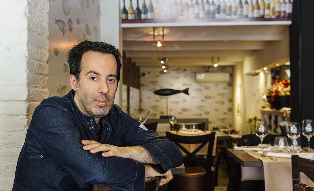 El chef Adelf Morales, curtido en las cocinas catalo-vasco-niponas