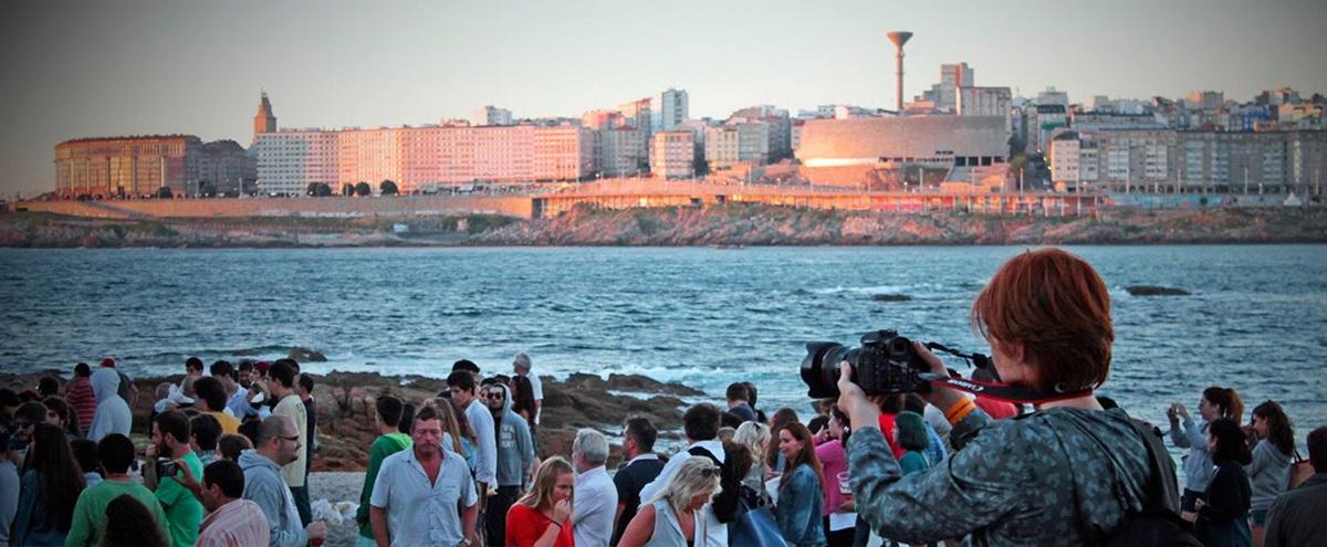 Los asistentes al festival aprovechan para sacar su cámara y capturar los momentos más bellos de la ciudad. Foto: Facebook Festival Noroeste.