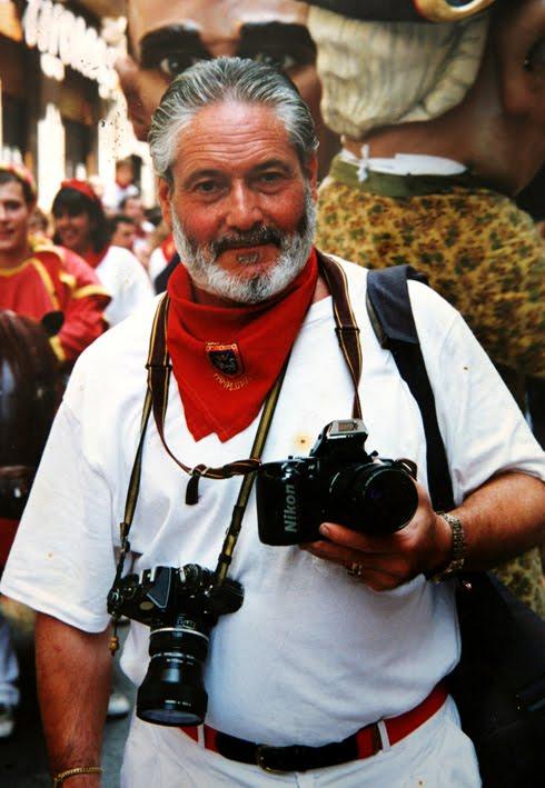 Retrato de José Luis Nobel Goñi. Foto: Ayuntamiento de Pamplona.
