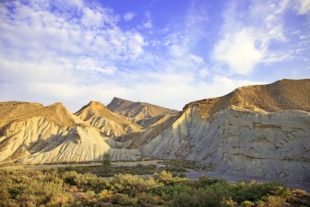 No es el Sahara, es el Desierto de Tabernas. Foto: Shutterstok.