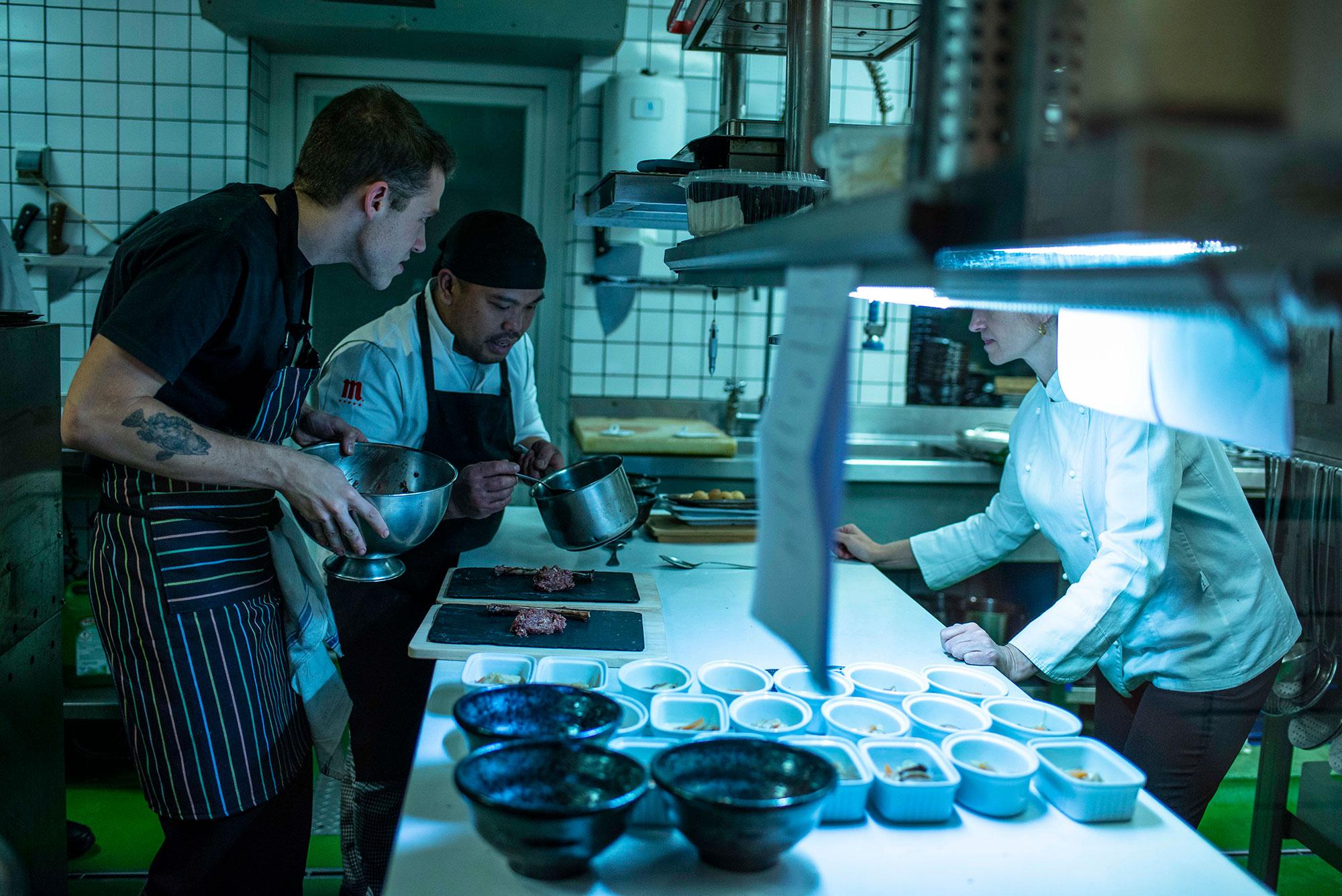 El chef Víctor Membibre es un defensor concienciado y radical de la cocina de temporada.