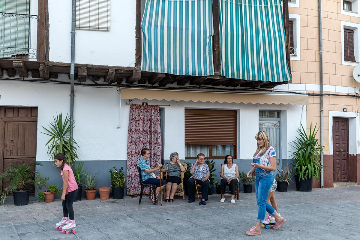 La posada está en un pueblo donde el clima y su gente invitan al descanso.