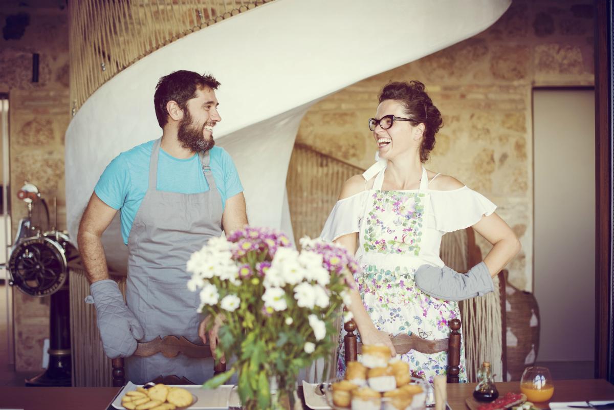 Los encantadores dueños del Patio del Posadero. Foto: Patio del Posadero.