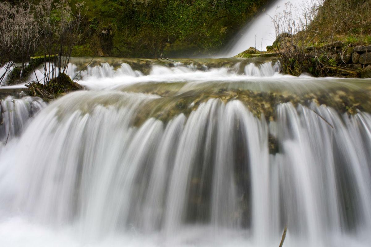 Cascada de Orbaneja del Castillo. Foto: Xavier. Flickr.