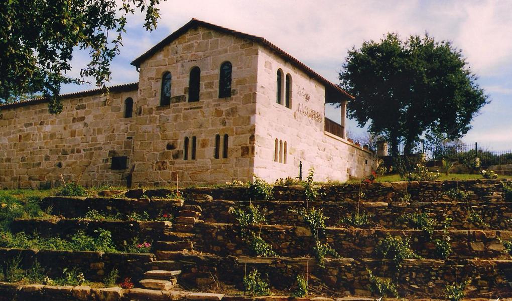 La Bodega Algueira está en la provincia de Lugo,en la ribeira do Sil. Foto: cortesía Adega Algueira.