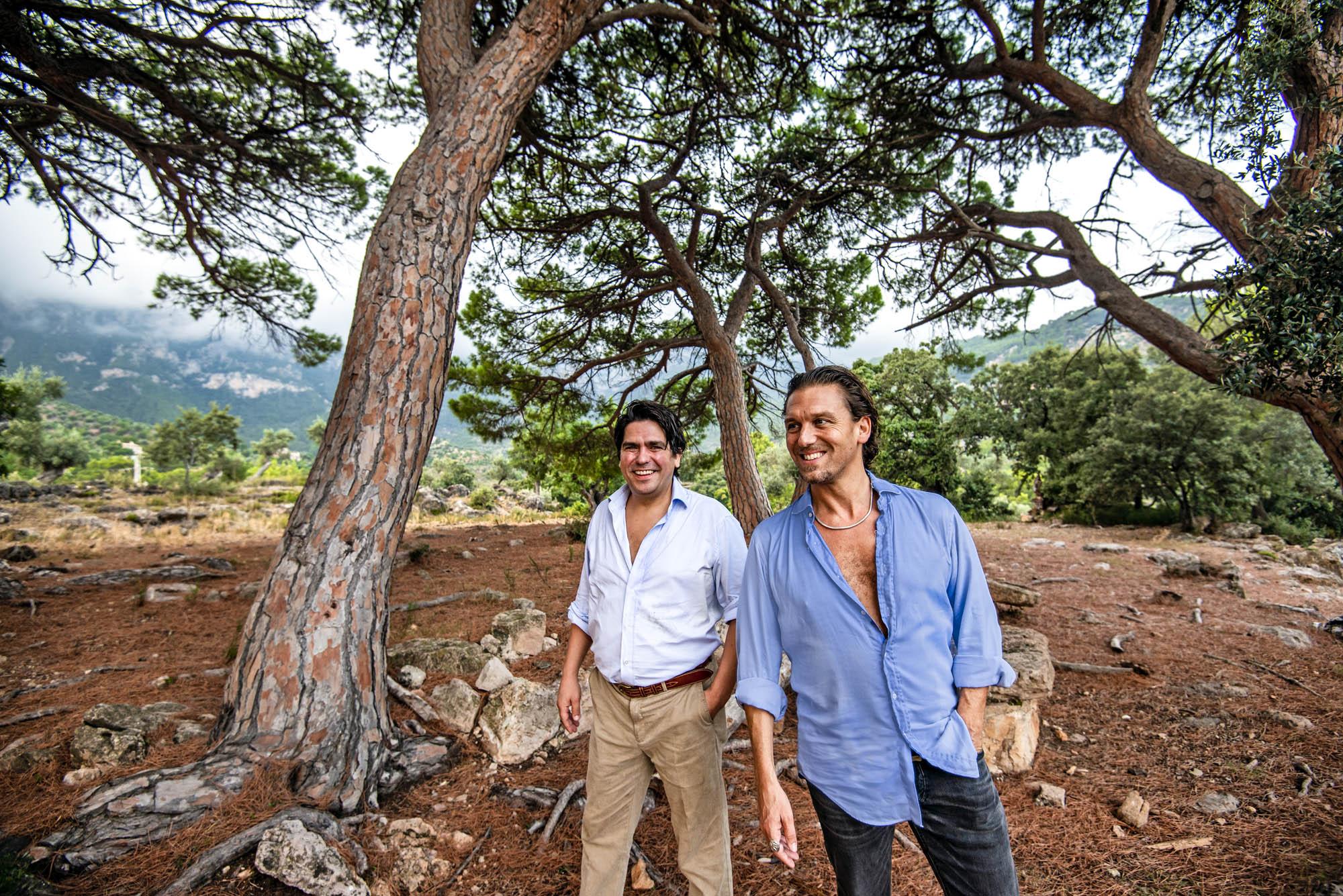 Eddie Hart y Samuel Gough, de 'El Camino'.