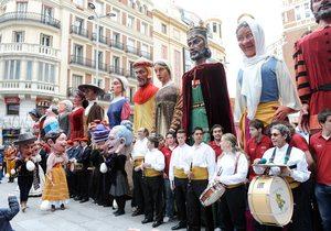 Pasacalles durante las fiestas de San Isidro. / Cedida por: Ayto. de Madrid.