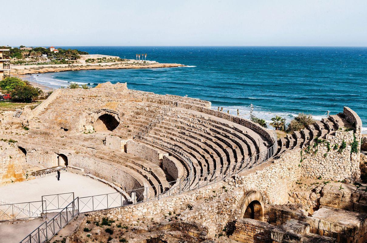 Teatro romano en Miravet, Tarragona. Foto: Flaminia Pelazzi