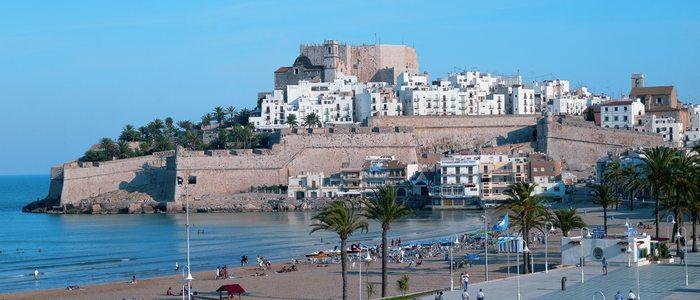 Playa Norte. / Cedida por: Turismo de Peñíscola.