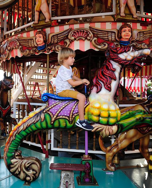 Planes para niños en Tivoli World (Benalmádena)