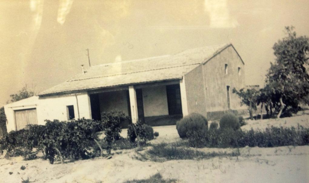 Así era La Finca en 1984, cuando Susi y José María la compraron. Foto: José María García.