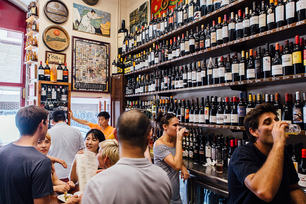Bodega 'Quimet i Quimet', en Barcelona