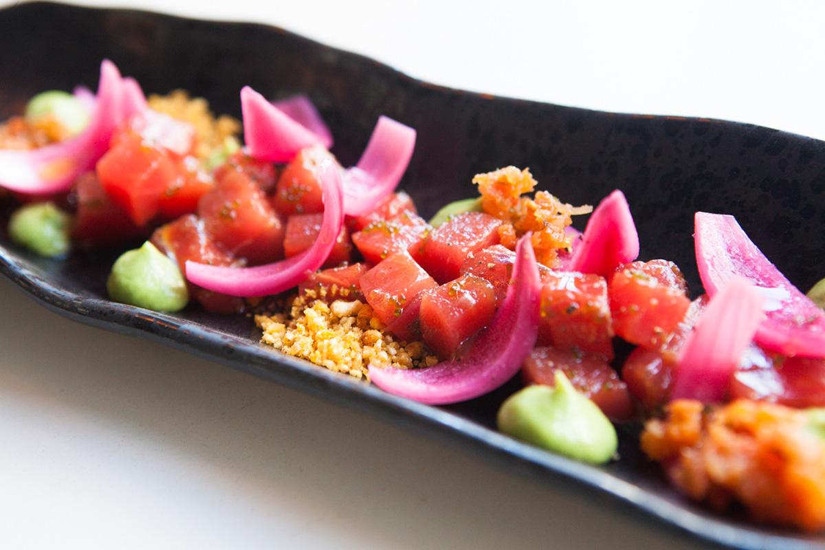 Cualquier plato hecho con atún en Kulto es un acierto.