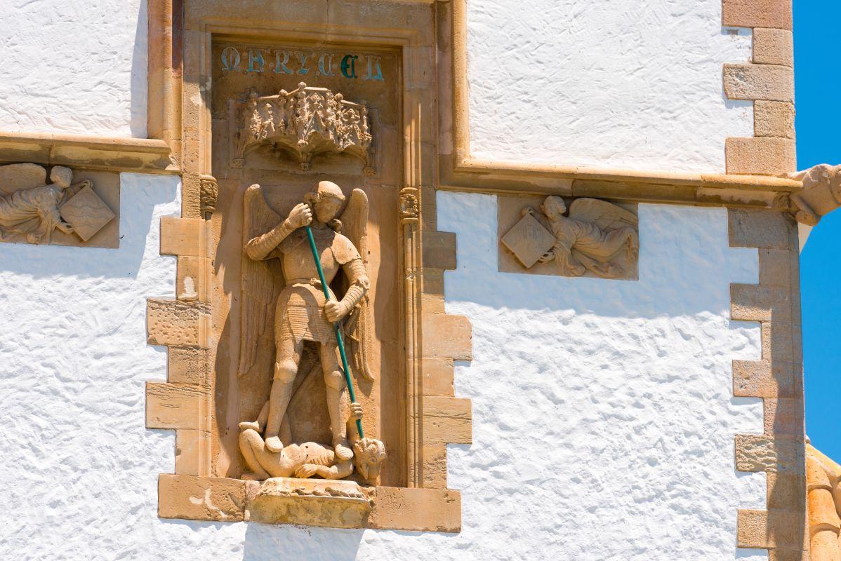 Detalle del Palacio de Maricel, en Sitges. Foto: Shutterstock.