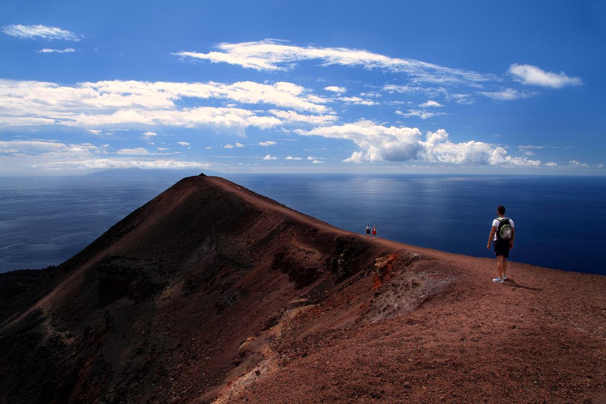 Volcanes de La Palma. Foto: Van Marty (cedida por: Patronato de Turismo de La Palma).