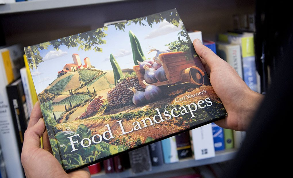 Portada del libro Food Lanscapes.