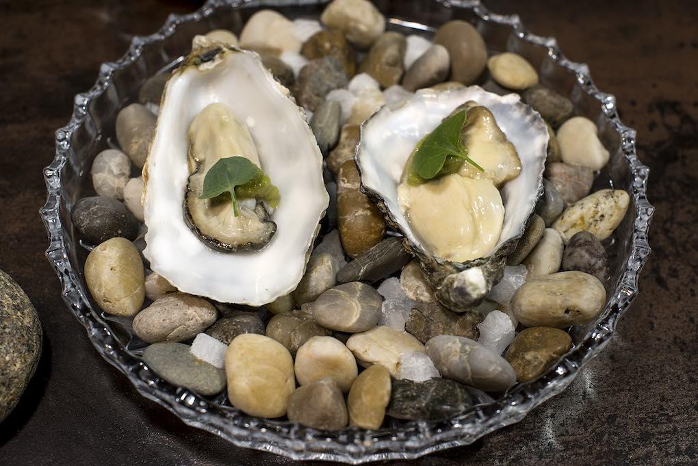 Las ostras gasificadas, una delicia.