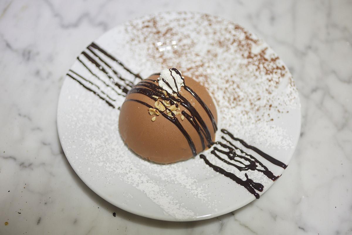 Tarta Ferrero Rocher.