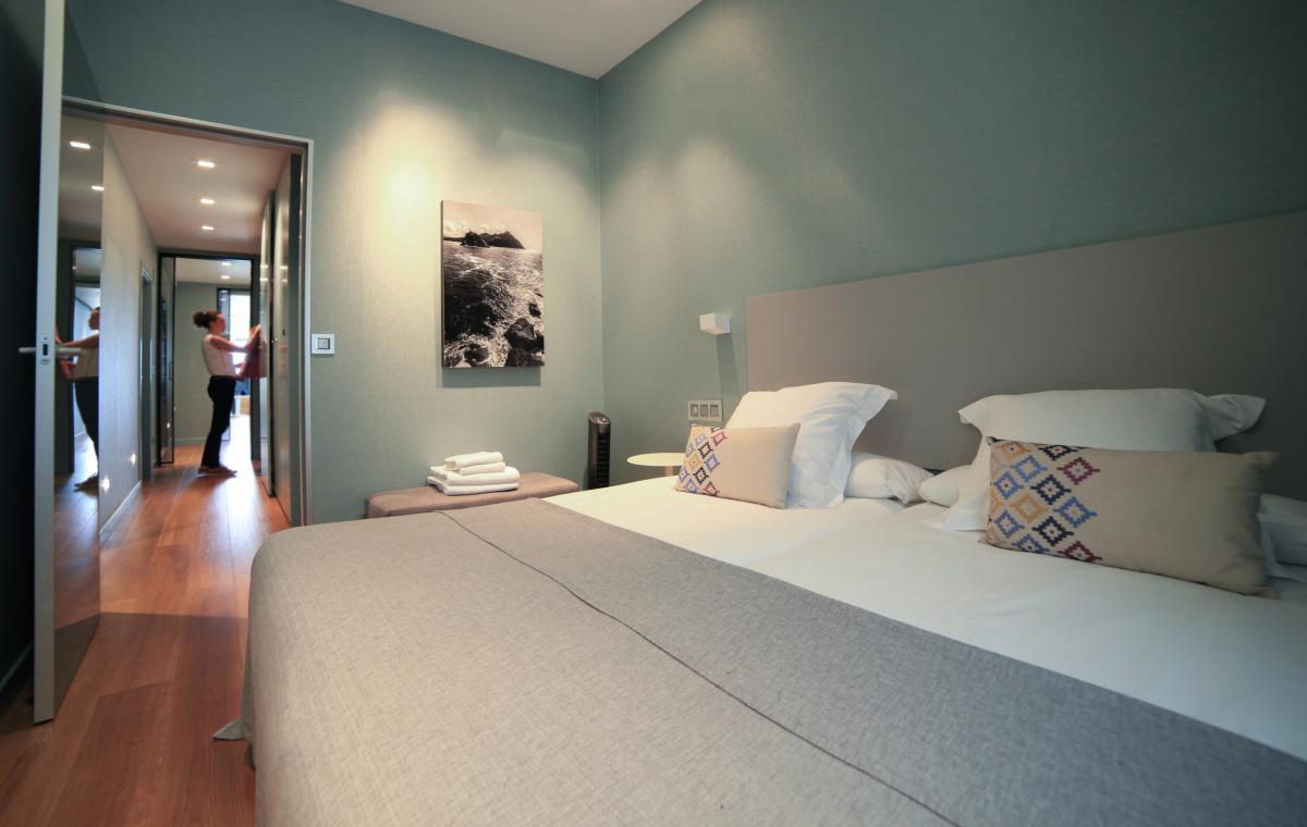 Los elementos decorativos evidencian la preocupación por crear un ambiente amigable.