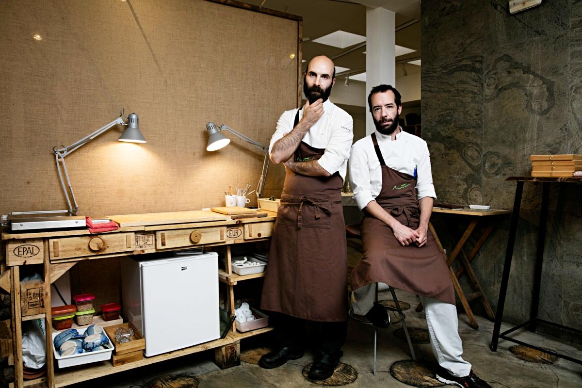 Luis y Daniel son los chefs que dirigen Montia. Foto: Nani Gutierrez