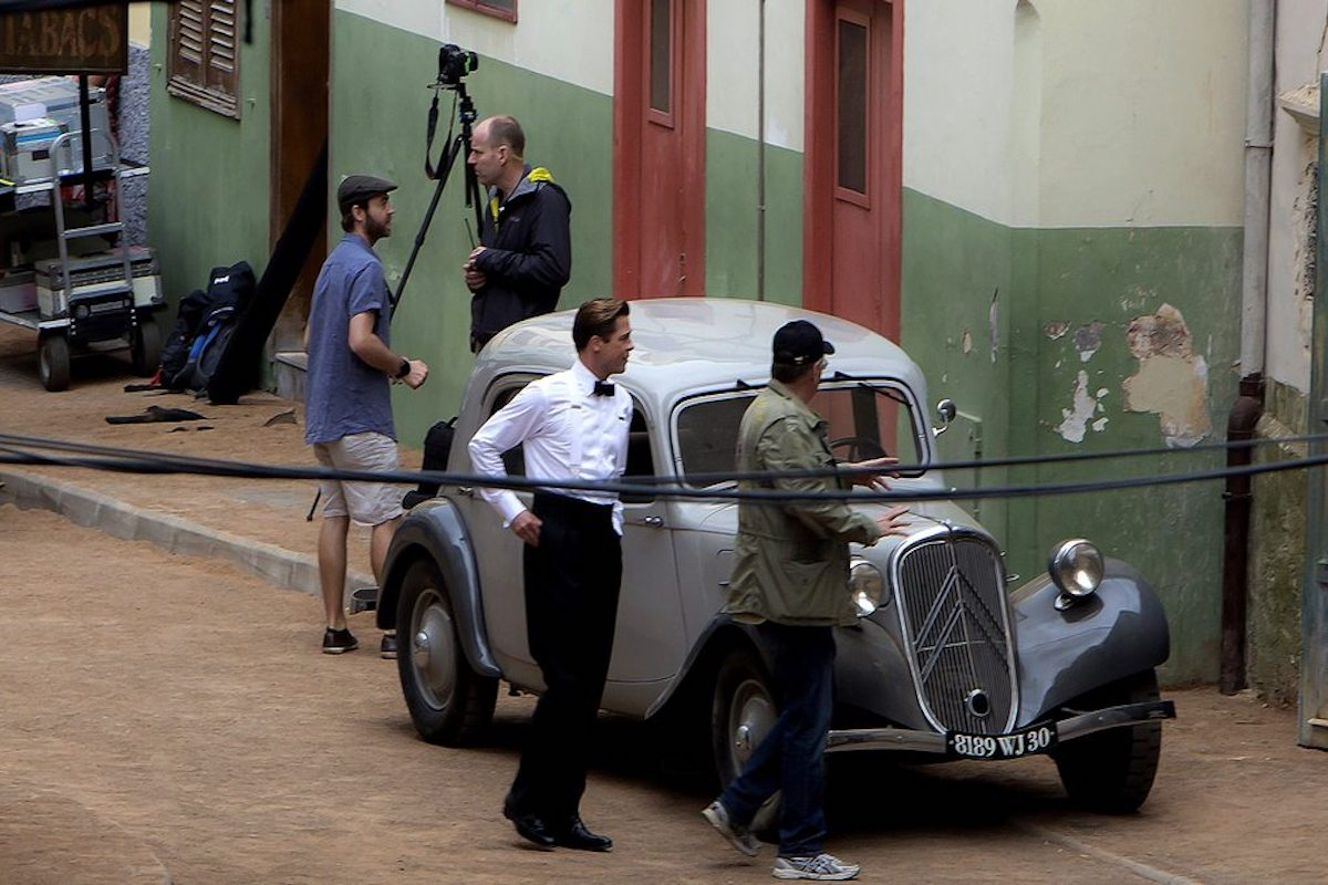 Brad Pitt en Canarias.