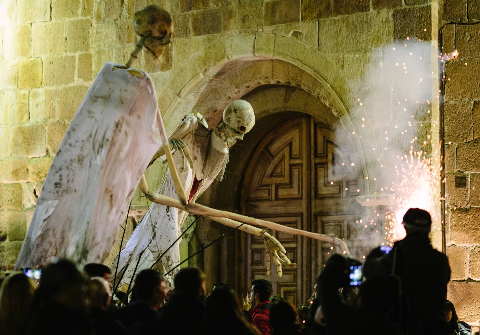 El ritual soriano está inspirada en la leyenda 'El monte de las ánimas', de Bécquer. Foto: Concha Ortega